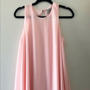 ASOS Light Pink Sleeveless Swing Dress
